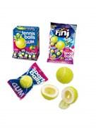 """Жевательная резинка """"Теннисные мячики"""" с начинкой лимон-лайм 5гр"""