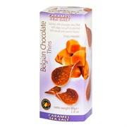 Шоколадные чипсы Belgian Chocolate Caramel sea salt 80г