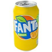 Газ.нап. Fanta Lemon ж/б 330мл