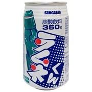 Напиток безалкогольный газированный САНГАРИЯ РАМУНЕ КУН СОДА 350 мл / SANGARIA RAMUNE KUN SODA 350 ml ж/б