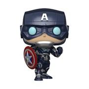 Фигурка Funko POP! Bobble: Marvel: Avengers Game: Captain America 47757