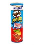 Принглс (Pringles) 110г Чипсы со вкусом КОКТЕЙЛЯ КРОВАВАЯ МЕРИ