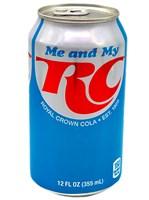 Газированный напиток RC Cola 355ml